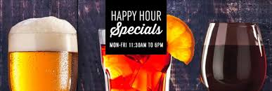 Happy Hour Specials - Seafood Shack