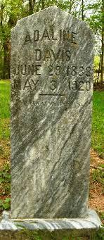 Sarah Adeline Davis Davis (1833-1920) - Find A Grave Memorial