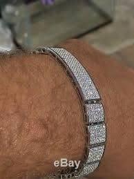 bracelet 925 sterling silver diamond
