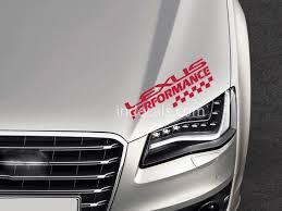 1 X Lexus Performance Sticker Red Indecals Com