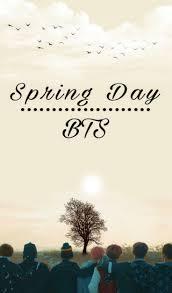 best bts spring day ideas bts
