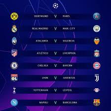 Champions League, i sorteggi degli ottavi di finale 2019/2020