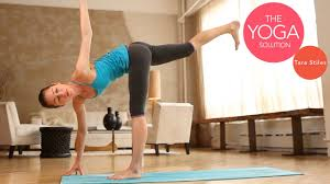flow routine advanced yoga
