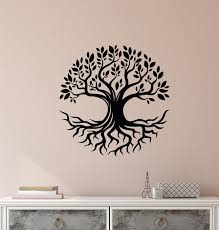 Vinyl Wall Decal Nature Family Tree Of Life Celtic Symbol Stickers 38 Wallstickers4you