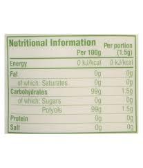 truvia sugar subsute powder 150 gm