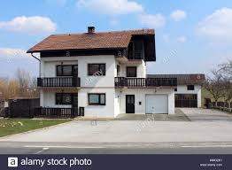Black And White Wooden House High Resolution Stock Photography And Images Alamy
