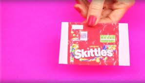 ing diy miniature skittles slime