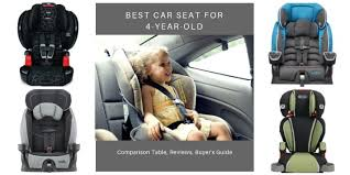best car seat for 4 year olds in 2020