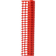 Quest Brands 4 X50 Orange Plastic Snow Fence Home Hardware