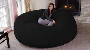 giant 8 foot super fy bean bag chair