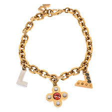 crystal love letter timeless gold tone