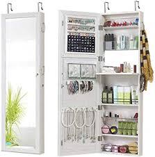 gissar jewelry mirror armoire