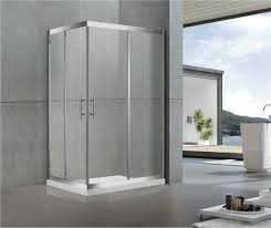 shower screen sliding stainless steel