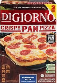 digiorno crispy pan pizza pepperoni