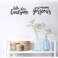 iapiu quotes wall sticker mural decal art home decor hello there