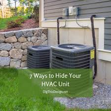 Hvac Unit 7 Beautiful Ways To Hide It Dig This Design