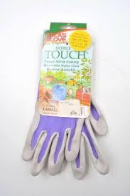 gloves nitrile touch gardening gloves