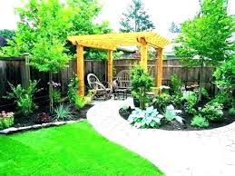 low maintenance small backyard design