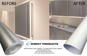 high gloss matt vinyl wrap kitchen
