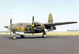 Martin B-26 Marauder Twin-Engine Medium Bomber Aircraft