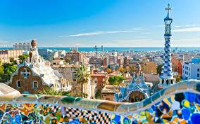 europe spain cities gaudi wallpaper