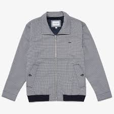 men s herringbone pattern zip