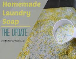 homemade powdered laundry soap version 2