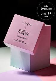 oreal x namshi makeup mystery box
