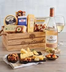 wine cheese gift baskets wine
