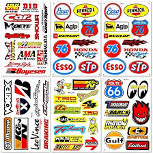 Automotive Cars Auto Racer Race Drag Motorcycle Bmx Motocross Dirtbike Vintage Parts Tools Brand Helmet Racing Pack In 2020 Car Decals Sticker Kits Motorcycle Stickers