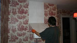 easily remove wallpaper with vinegar