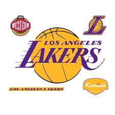 Los Angeles Lakers Logo Wall Mural ...