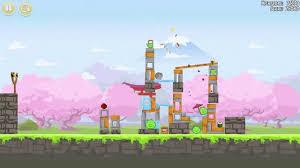 Angry Birds Seasons: Cherry Blossom gameplay - YouTube