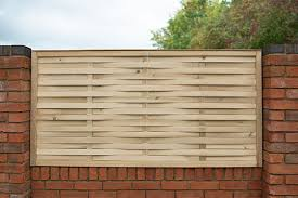 1 8m X 0 9m Pressure Treated Woven Fence Panel Forest Garden