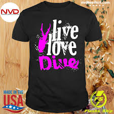 dive springboard diving gift shirt