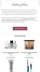 best rated skincare dupes makeupalley