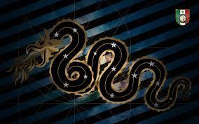 футбольный клуб эмблема нерадзурри фк интер милан футбол италия змея HD  обои для ноутбука
