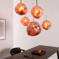 20cm 1 lamp artistic glass stone lava