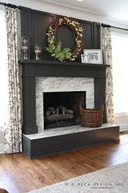 gorgeous charcoal gray painted