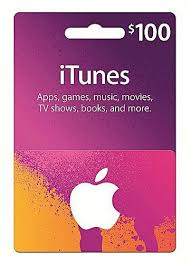 apple 100 us itunes gift card