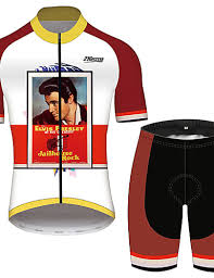 elvis presley cycling clothing search