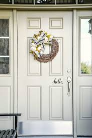 How To Apply A Front Door Decal Stonegable
