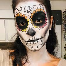 gina rodriguez shows off sugar skull