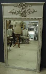 antique french trumeau mirror 227108