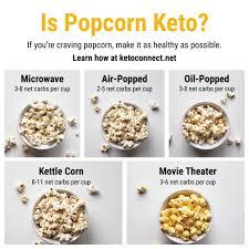 popcorn actually keto friendly