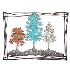 trees metal wall decor hobby lobby