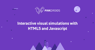 simulations with html canvas and javascript