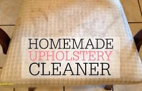 top result diy upholstery cleaner