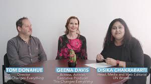 UN Women - We're here with Actress, Activist & Exec....