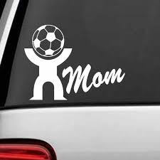 Mom Football Player Sticker Sports Soccer Car Decal Helmets Kids Room Name Posters Vinyl Wall Decals Football Sticker Football Sticker Kids Roomvinyl Wall Aliexpress